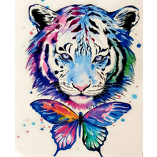 Paint Theropy Paint By Numbers Art Set Lion Butterfly