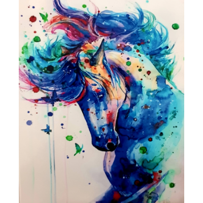 Paint Theropy Paint By Numbers Art Set Majestic Horse
