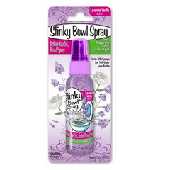 Stinky Bowl Spray Lavender Vanilla 52g