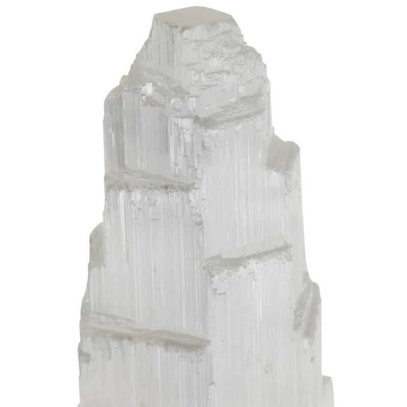 Selenite Protection Tower 15cm
