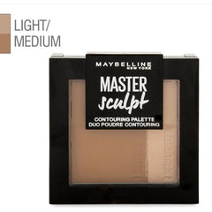 Maybelline Master Sculpt Contouring Palette Light to Medium 01 -  9g