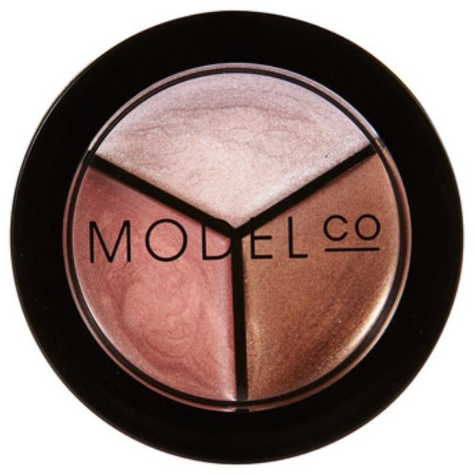 Model Co Highlight & Contour 3 in 1 Trio Palette 1.3g