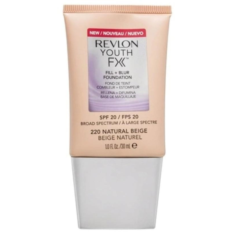 Revlon Youth FX Fill and Blur Foundation SPF 20 Natural Beige 220