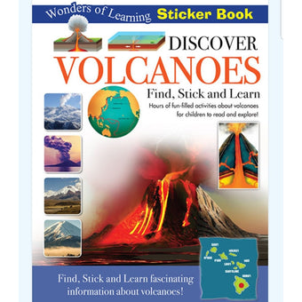 Discover Volcanoes Find Stick & Learn