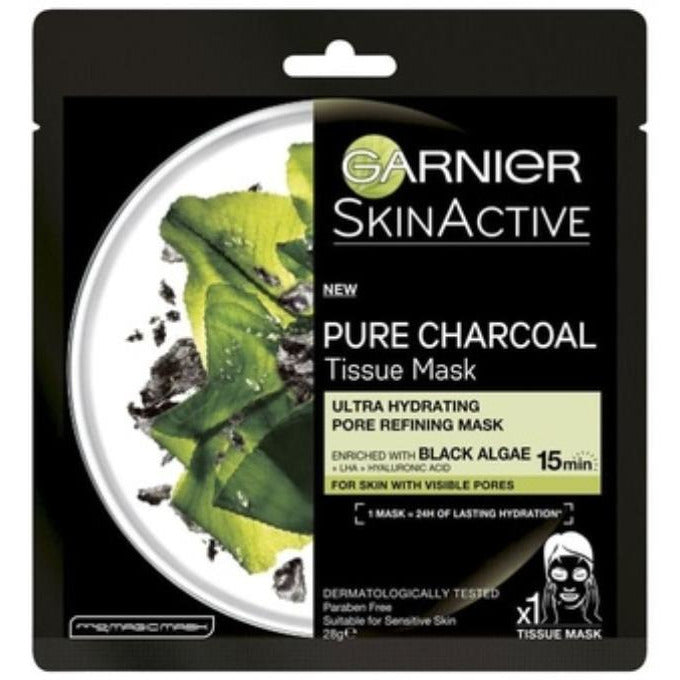 Garnier Skin Active Pure Charcoal Tissue Mask 32g