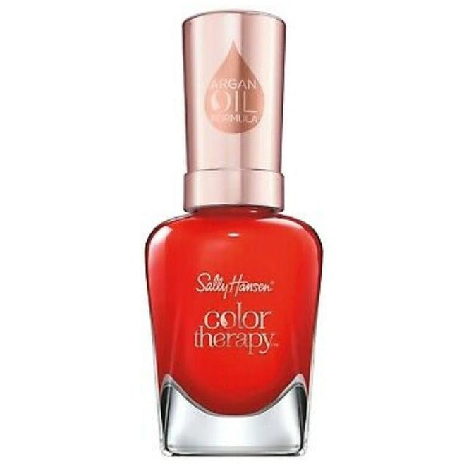 Sally Hansen Color Therapy Argan Oil Nail Polish Red-iance 14.7ml