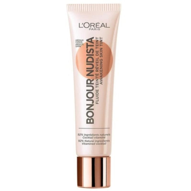L'Oreal Paris Bonjour Nudista Awakening Skin Tint Medium Dark 30ml