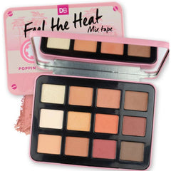 DB Designer Brands Feel The Heat Mix Tape 12 Shade Eyeshadow Palette