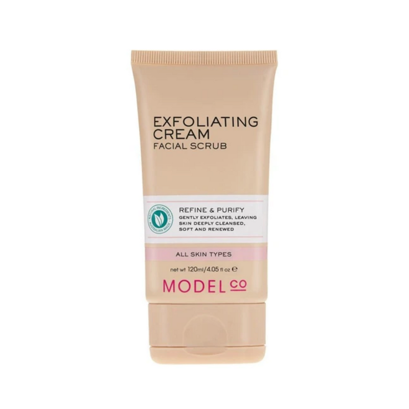 Model Co Exfoliating Cream Facial Scrub 120ml