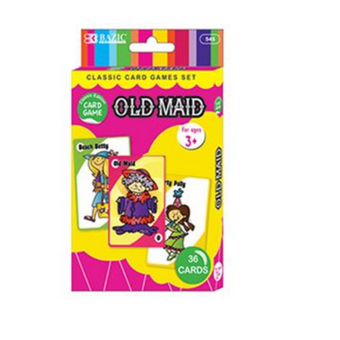 Bazic Card Game Old Maid