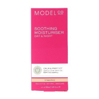 Model Co Soothing Moisturiser Day & Night Sensitive 50ml