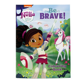 Nella The Princess Knight Be Brave Sticker Activity Book