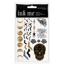 Rimmel London Ink Me Metallic Sticker Tattoo Skulls