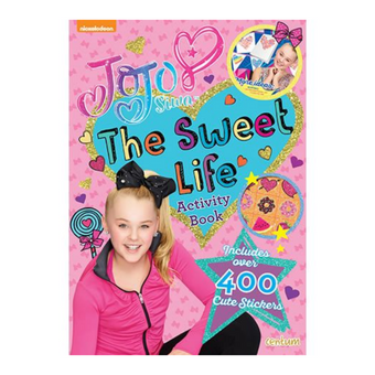 Jo Jo Siwa Sweet Life Activity Book