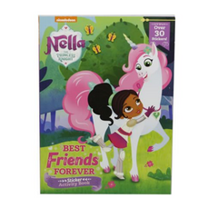 Nella The Princess Knight Sticker Activity Book Best Friends