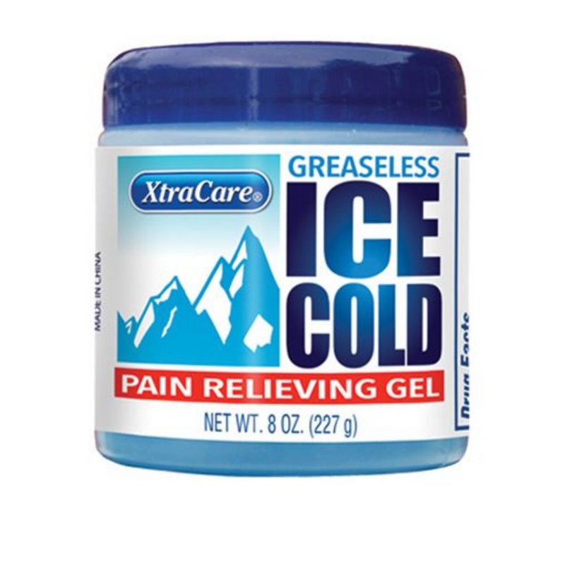 Xtra Care Ice Cold Pain Relieving Gel Tub 227ml