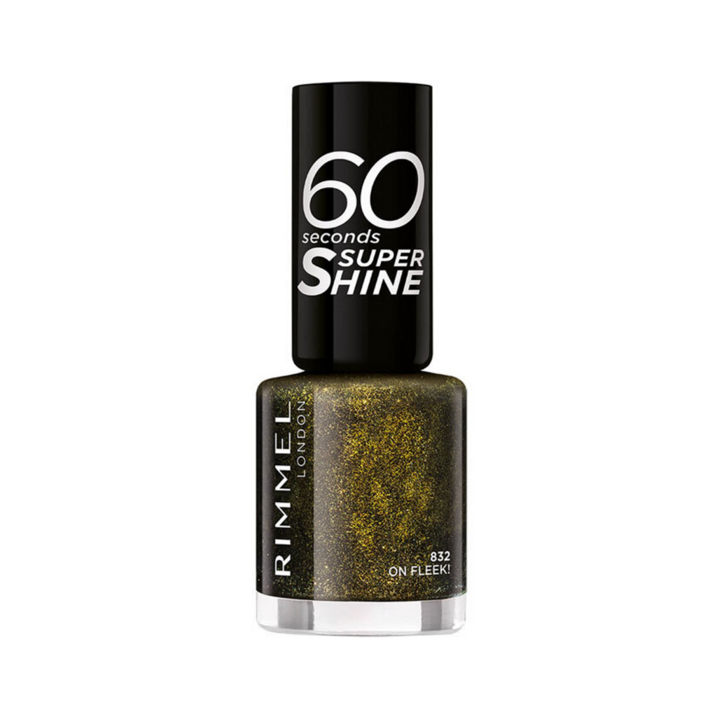 Rimmel London Nail Polish 60 Seconds Super Shine On Fleek 832 8ml