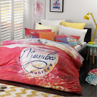 Logan & Mason Mambo Double Quilt Cover Set