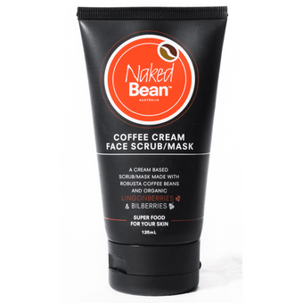 Naked Bean Coffee Cream Face Mask 125ml