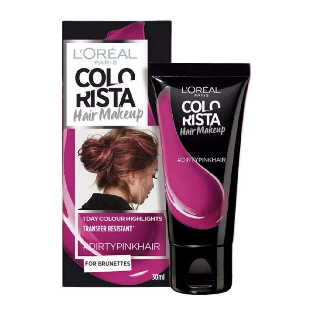 L'Oreal Paris Colorista Hair Makeup 1 Day #Dirty Pink Hair 30ml