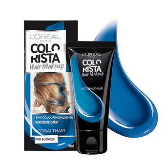 L'Oreal Paris Colorista Hair Makeup 1 Day #Cobalt Hair 30ml