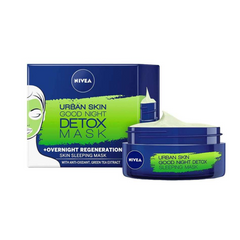 Nivea Urban Skin Good Night Detox Mask Overnight Regeneration 50ml