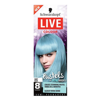 Schwarzkopf Live Colour Ultra Brights Baby Blue