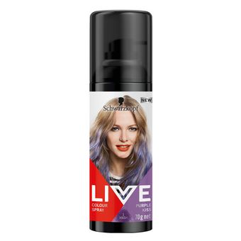 Schwarzkopf Live Colour Spray Purple Kiss 1 Wash