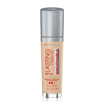 Rimmel Lasting Finish 25hr Foundation SPF20 100 Ivory 30ml