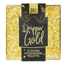 Designer Brands Drippin Gold Eyeshadow Palette