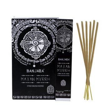 Banjara Incense Smudge Sticks Mayan Myrrh