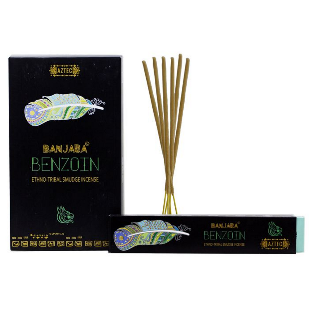 Banjara Incense Smudge Sticks Benzoin