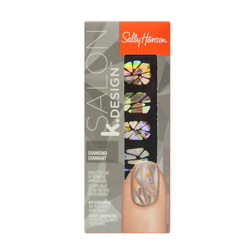 Sally Hansen PK16 Design Textured Appliques 501 Diamond