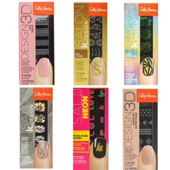 Sally Hansen Nail Design Texture 3D Gift Set