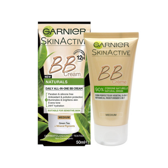 Garnier Skin Active BB Cream Naturals Daily All In One Medium 50ml