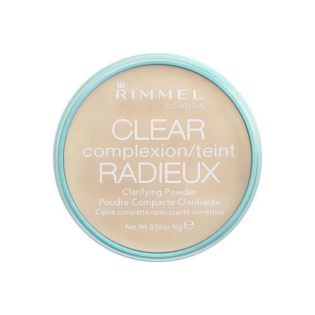 Rimmel London Clear Complexion Clarifying Powder 021 Transparent 16g
