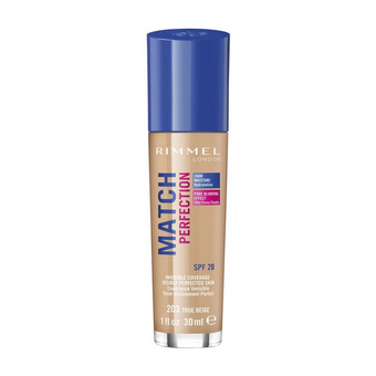 Rimmel Match Perfection Foundation SPF20 203 True Beige 30ml