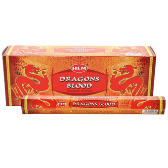 HEM Dragons Blood Incense 20 Sticks