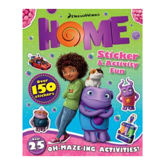 Dreamworks Home Sticker & Activity Fun 16pg
