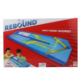 Rebound Shoot! Bank! Score!