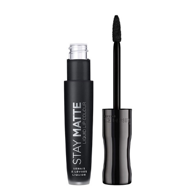Rimmel London Stay Matte Liquid Lip Colour 840 Pitch Black 5.5ml