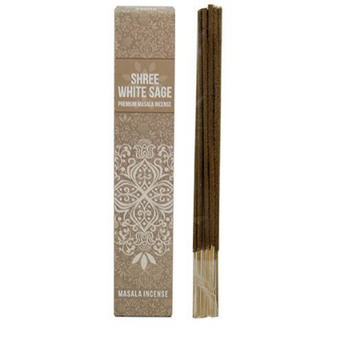 Shree White Sage Masala Incense