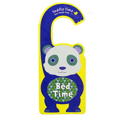 Toddler Time Door Hanger Book Bed Time