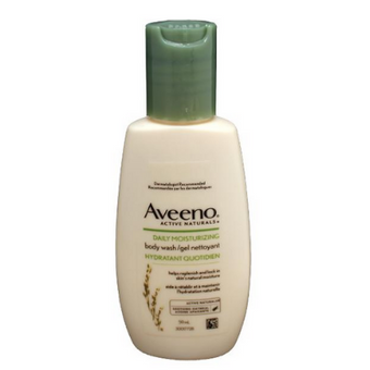Aveeno Daily Moisturising Body Wash Travel Mini 59ml