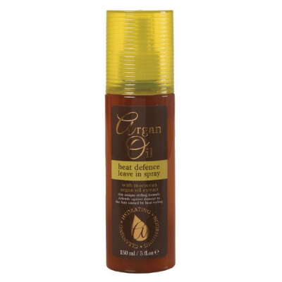 Argan Oil Heat Defence Leave In Spray With Moroccan Argan Oil 150ml