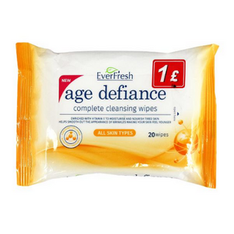 EverFresh Age Defiance Complete Cleansing Wipes 20pk