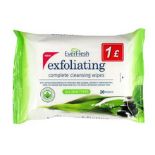 EverFresh Exfoliating Complete Cleansing Wipes 20pk