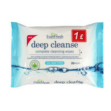EverFresh Deep Cleanse Complete Cleansing Wipes 20pk
