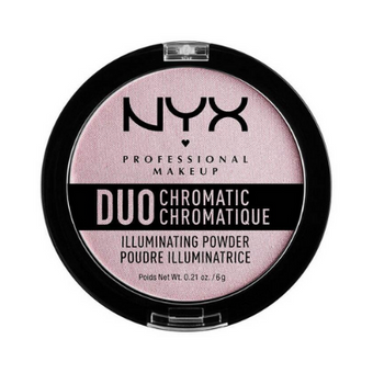 NYX Duo Chromatic Illuminating Powder 02 Lavender Steel