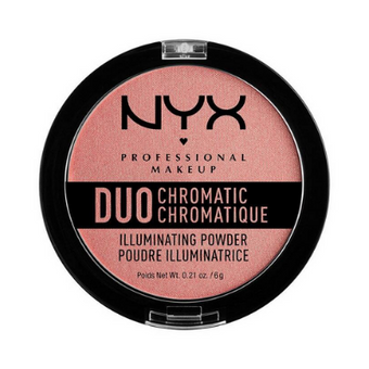 NYX Duo Chromatic Illuminating Powder 03 Crushed Bloom